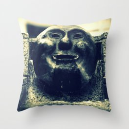 Pioneer Fountain Throw Pillow