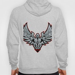 Symbol for gym and fitness Hoody