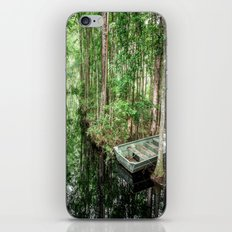 Swamp Boat iPhone & iPod Skin