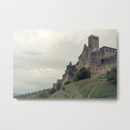 Carcassonne Metal Print