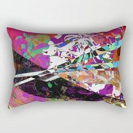 Battle Scene Rectangular Pillow