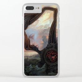 Rhaegar Clear iPhone Case