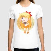 sailor venus T-shirts featuring Sailor Venus by strawberryquiche