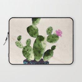 Blooming Cactus Laptop Sleeve