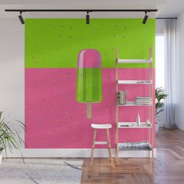 Ice Stick Party Wall Mural