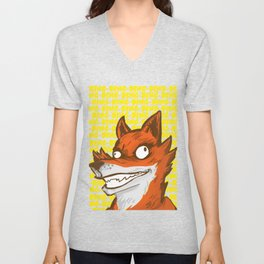 What the Fox say Unisex V-Neck