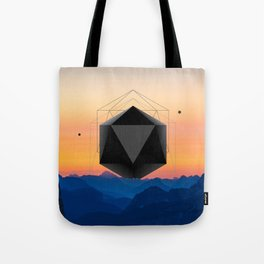 Sunrise Intruder Tote Bag