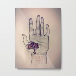 I Think You Are Beautiful Metal Print