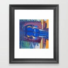 Blue Dreams from Amsterdam Framed Art Print