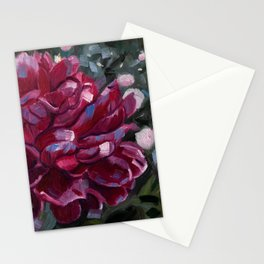 Peonies in the Park Stationery Cards