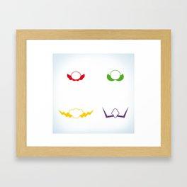 ✩ M.B. Framed Art Print
