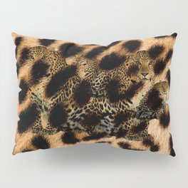Leopard Shadow Pillow Sham