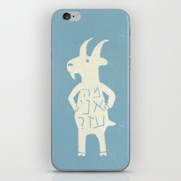 Goats iPhone Skin