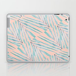 Palm Leaves Coral Laptop & iPad Skin