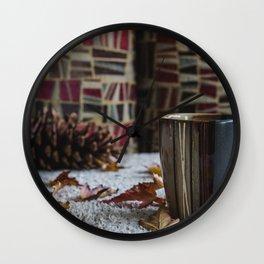 Autumn Mood Wall Clock