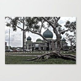 Great Mosk in Sumatra Indonesia Canvas Print