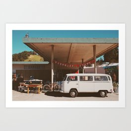 Garage Sale. Art Print