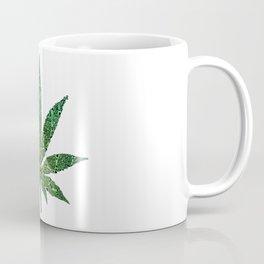 Marijuana Leaf of Bones Coffee Mug