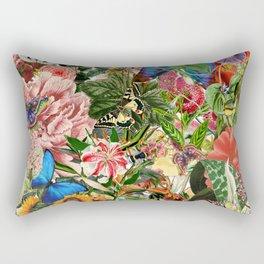 English Country Garden Rectangular Pillow