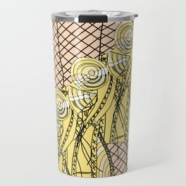 Fishnet Gold Travel Mug