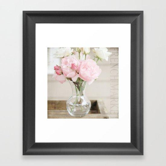 Smells Like Roses Framed Art Print