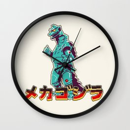 Mechagodzilla Wall Clock