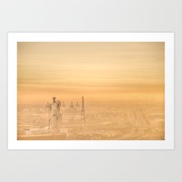 Hazy Apocalypse Art Print