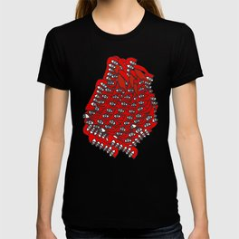 Freddie Eyeballs Red T-shirt