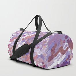 Violet Wave Reflections Duffle Bag