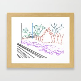 Snapshot Framed Art Print