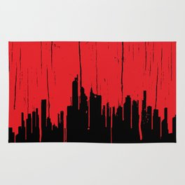 Paint it Red Rug