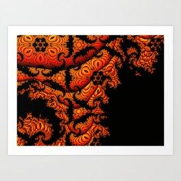 Fractal Design #2 Art Print