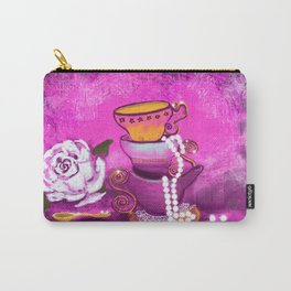Cups and Pearls Carry-All Pouch