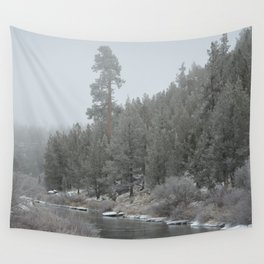 Old Ponderosa On The Deschutes River Wall Tapestry