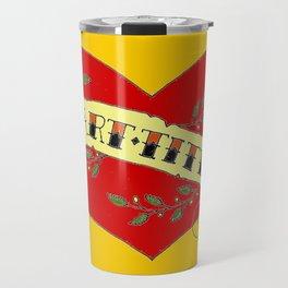 I Heart Titties, Colourful Travel Mug