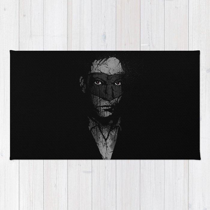 Father Hazard (Red Eyes) Rug