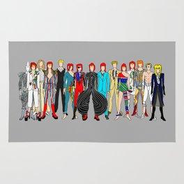 Heroes Circle Group Rug