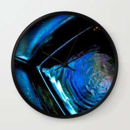 Prism Blues Wall Clock