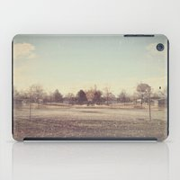 parks and rec iPad Cases featuring When Parks Were a Thing by Jane Lacey Smith