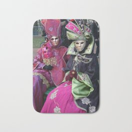 Masked Ladies of The Carnaval Bath Mat
