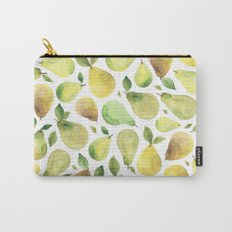 Watercolour Pears Carry-All Pouch
