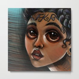 """FKA"" by Kristin Frenzel Metal Print"