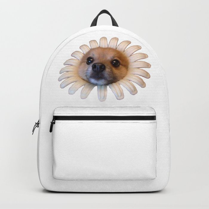 Flower Doggo Backpack