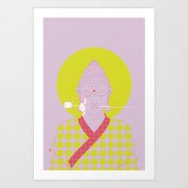 Buddha : Make Love! (PopArtVersion) Art Print