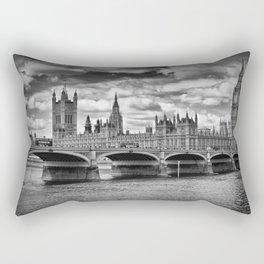 LONDON Houses of Parliament & Westminster Bridge Rectangular Pillow