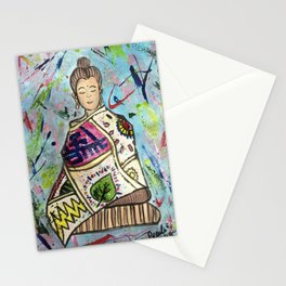 The Colourful Buddha Stationery Cards