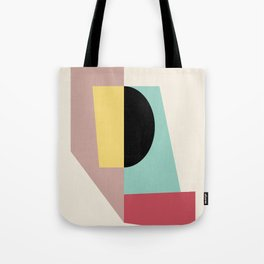 Geometric Shapes Abstract Tote Bag