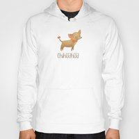 chihuahua Hoodies featuring Chihuahua by 52 Dogs