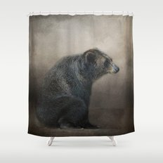 Grizzly At Rest - Wildlife Shower Curtain