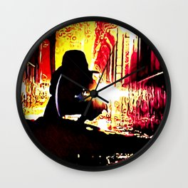 The Shadow Cleaner Wall Clock